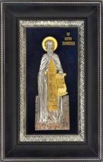 Сергий Радонежский (18х29), серебро