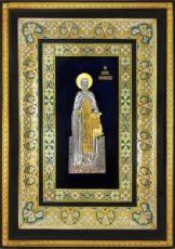 Сергий Радонежский (29х40), серебро