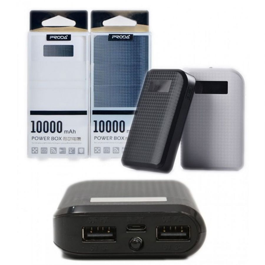 PowerBank (повер банк)Proda carbon 10000 Mah  (К)