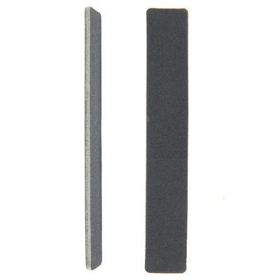 Пилка наждачная для ногтей QF прямоугольная 100/180 черная