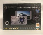 "DVR-929 FULL HD Видеорегистратор с двумя камерами ""Eplutus"""