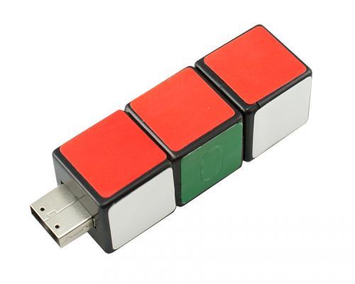 usb флешка 4 gb кубик рубик (К)