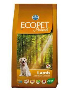 Ecopet Natural Lamb Adult Maxi (Экопет Нэчурал для взрослых собак крупных пород с ягненком)