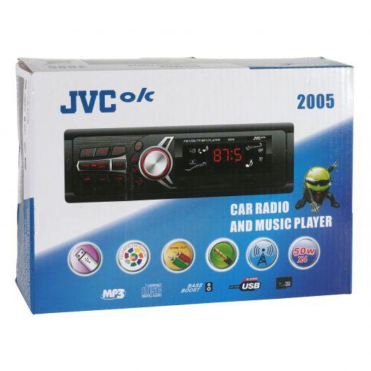 Автомагнитола JVC-ok 2005