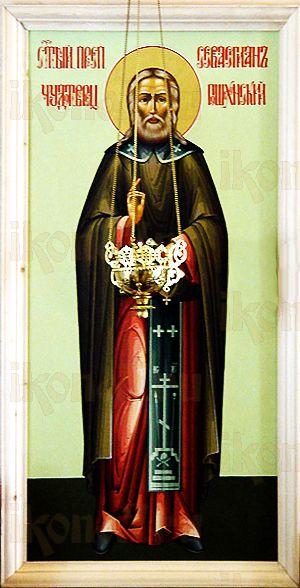 Севастьян Сохотский (Пошехонский) (рукописная икона)