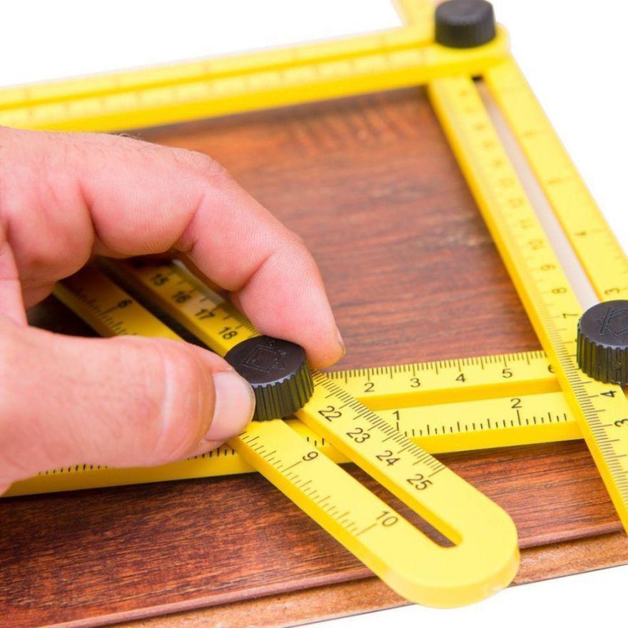 Складная линейка для измерения углов Multifunctional Folding Ruler