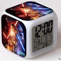 Часы-будильник star wars светящиеся (К)