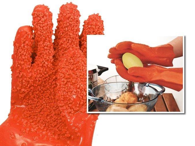 Перчатки для чистки овощей TATER MITTS (К)