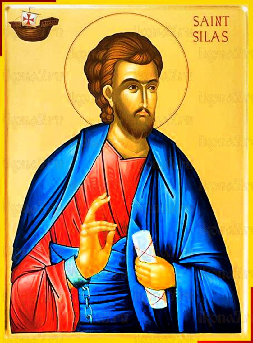 Сила Коринфский (рукописная икона)