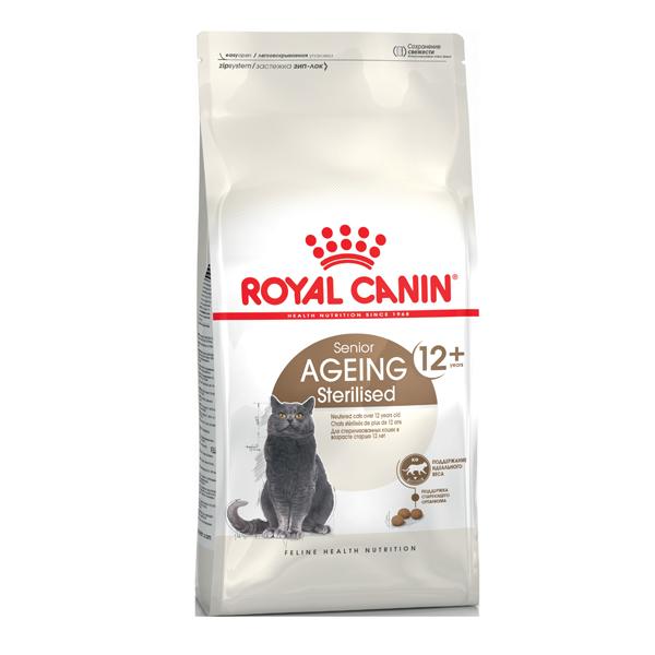 Сухой корм для кошек старше 12 лет Royal Canin Ageing Sterilised 12+ с птицей