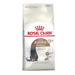 Корм сухой Royal Canin Ageing Sterilised 12+ для кошек старше 12 лет с птицей 0.4кг