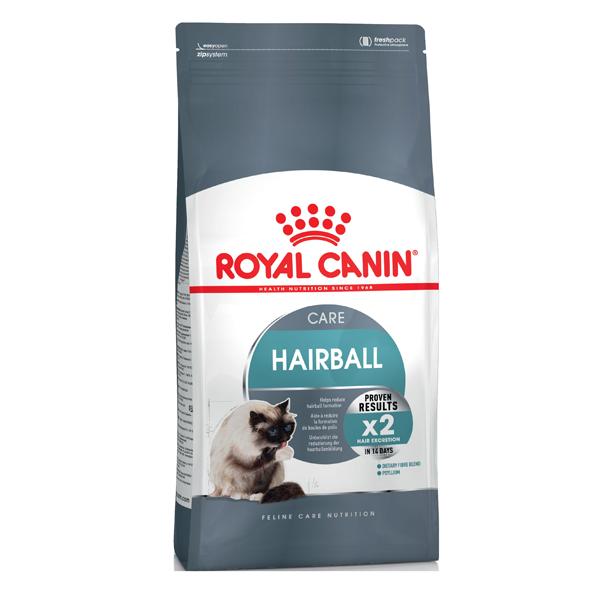 Сухой корм для кошек Royal Canin Hairball Care с птицей