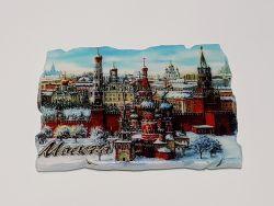 Магнит панорама Москвы