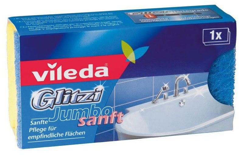 Vileda губка для ванной комнаты Glitzi Jumbo (Глитци Джамбо)