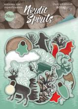 """Набор высечек  от Scrapmir """"Nordic Spirits"""""""