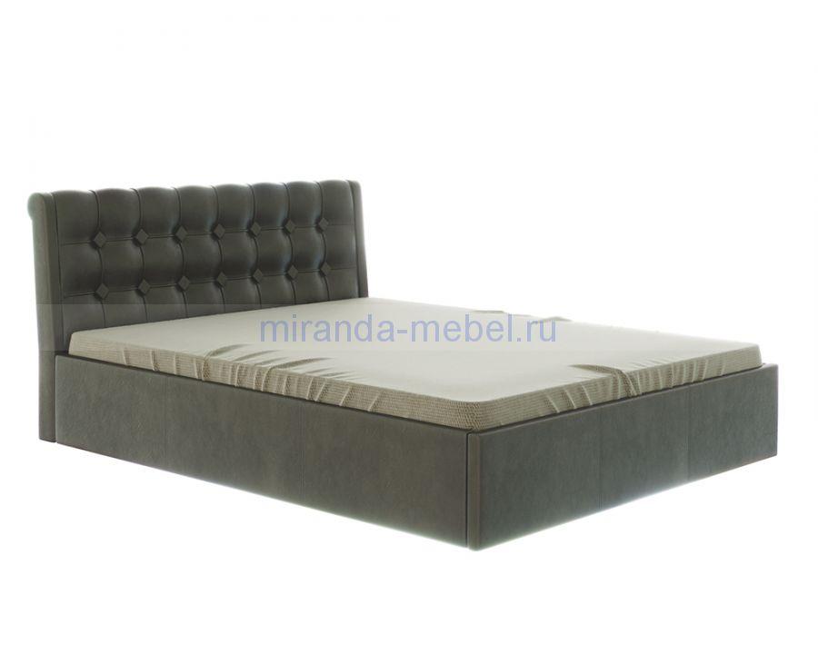 Лагуна 1,6 Кровать двуспальная с мягким изголовьем