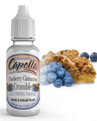 Blueberry Cinnamon Crumble (CAP)