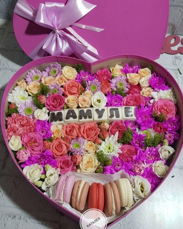 Коробочка Мамуле со сладостями