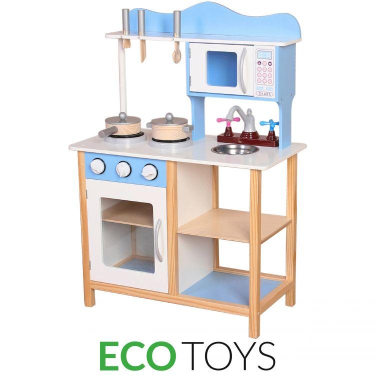 Кухня деревянная ecotoys TK040