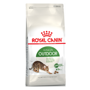 Корм сухой Royal Canin Outdoor для кошек с птицей 0.4кг