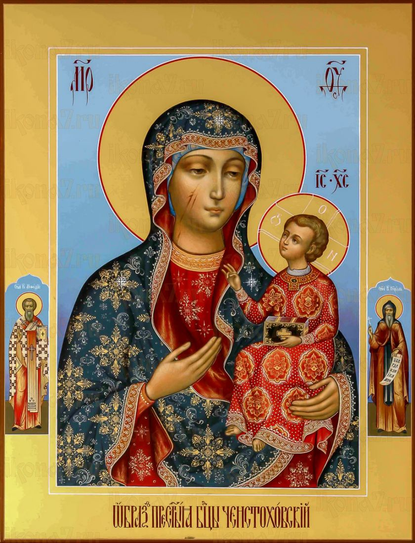 Икона Ченстоховская икона Божией Матери