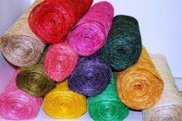 Сизаль  Абака (натуральная) одноцветная 48 см х 9 м