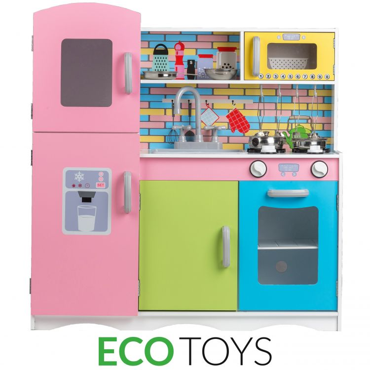Кухня деревянная ecotoys TK038