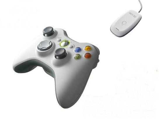 Microsoft Xbox 360 Wireless Controller for Windows белый