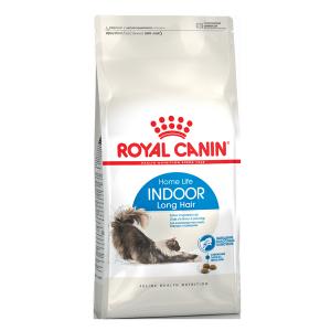 Корм сухой Royal Canin Indoor Long Hair для кошек с птицей 0.4кг