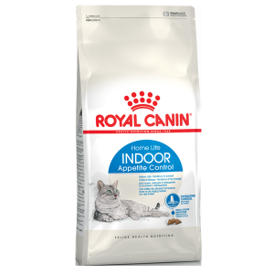 Корм сухой Royal Canin Indoor Appetite Control для кошек с птицей 0.4кг