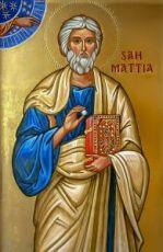 Апостол Матфей (икона на дереве)