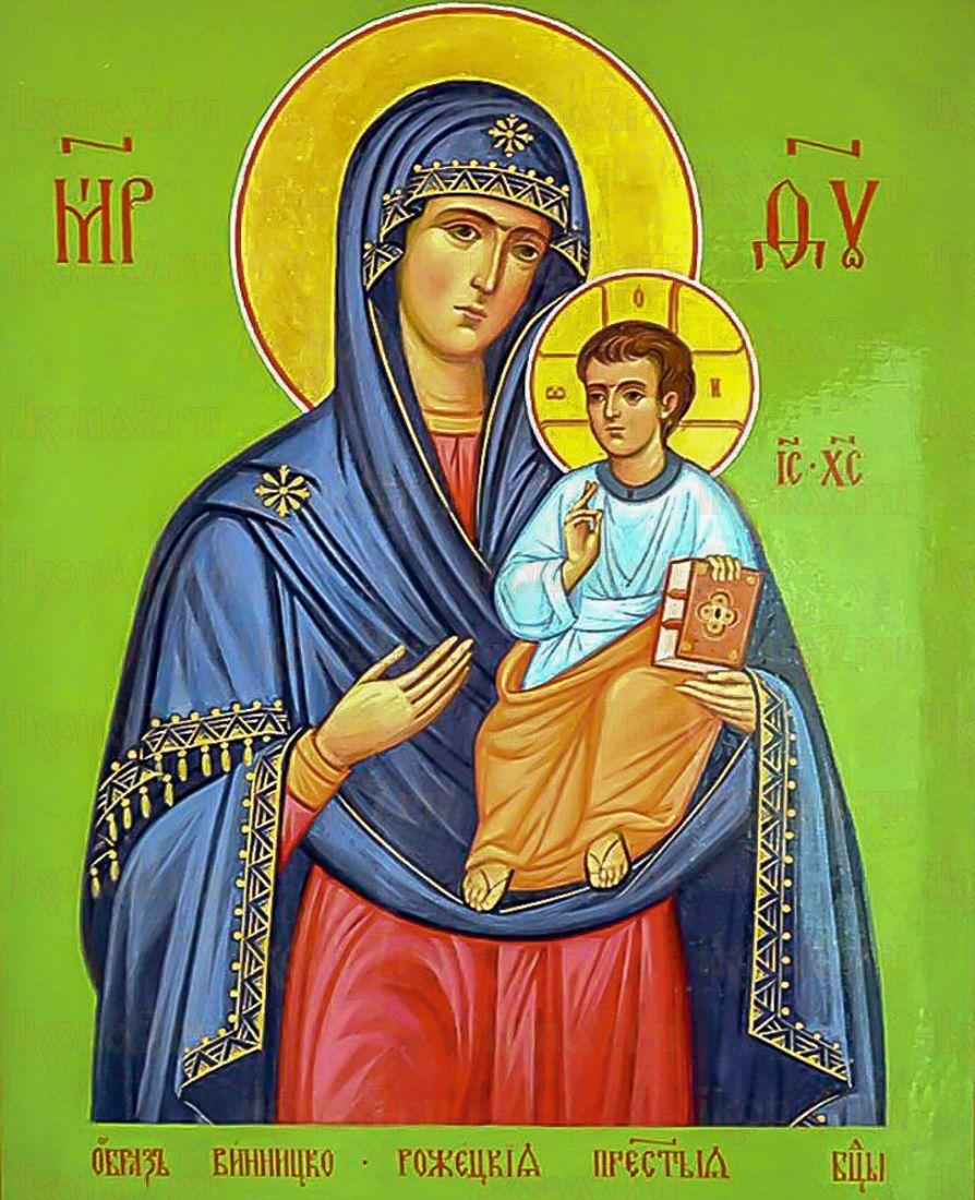 Винницко-Рожецкая (икона на дереве)