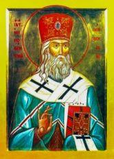 Иннокентий Пензенский (икона на дереве)