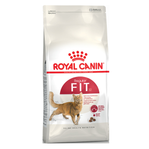 Корм сухой Royal Canin Fit для кошек с птицей 2кг