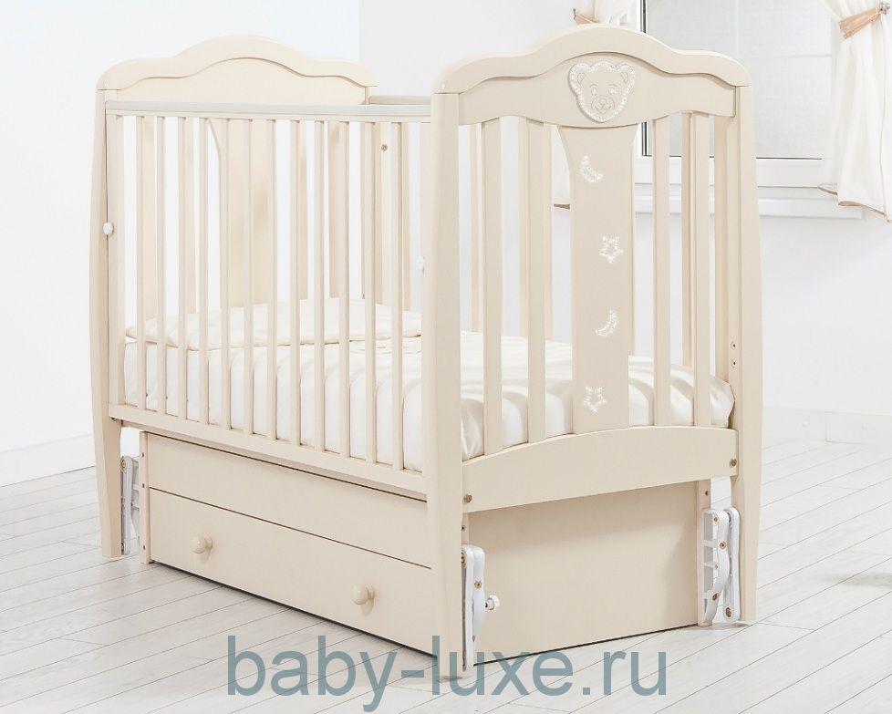 Кроватка детская Гандылян Мишель (универсальный маятник)