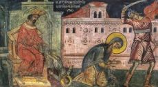 Икона Кирик и Иулитта (копия старинной)