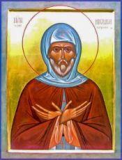 Икона Никодим Кожеезерский