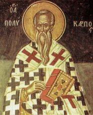 Поликарп Смирнский (копия старинной иконы)