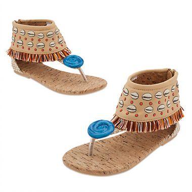 Моана босоножки Дисней костюм - обувь