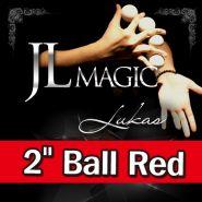 "Умножающиеся шары JL Lukas Balls 2"" by JL (красные, 3 Balls and Shell)"