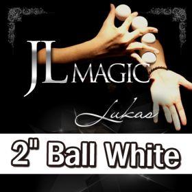 "Умножающиеся шары JL Lukas Balls 2"" by JL (белые, 3 Balls and Shell)"