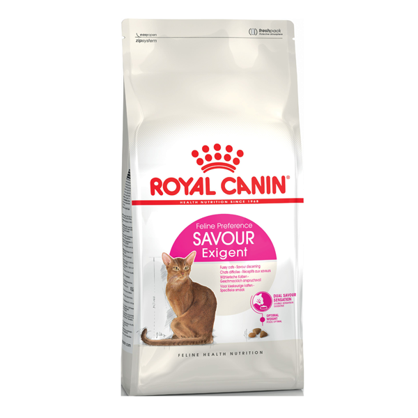 Корм сухой Royal Canin Exigent Savour Sensation для кошек с птицей 0.4кг