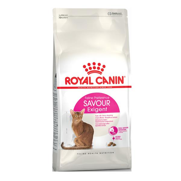 Сухой корм для кошек Royal Canin Exigent Savour Sensation с птицей