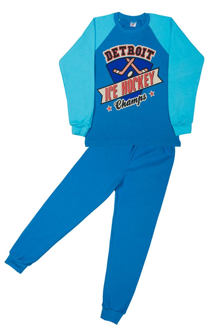 Трикотажная пижама для мальчика Хоккей