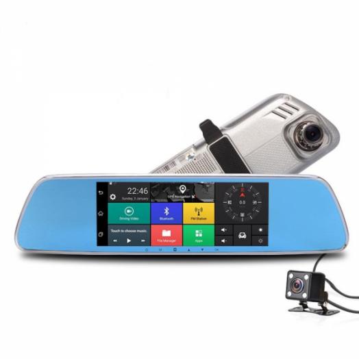 Автовидеорегистратор зеркало + камера + GPS ERODA HAD-E51816G