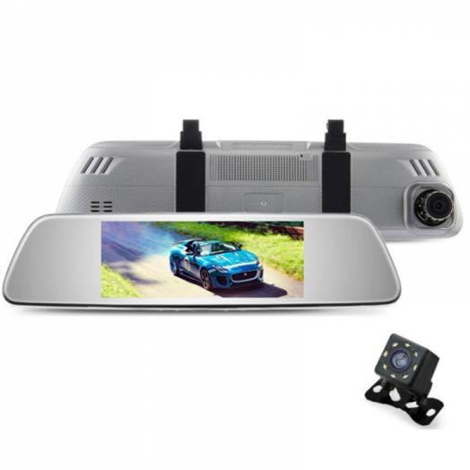 Автовидеорегистратор зеркало + камера ERODA HAD-E517S