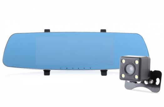 Автовидеорегистратор зеркало + камера Орбита HAD-75