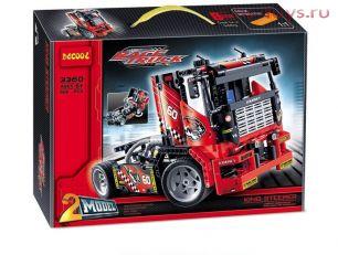Конструктор Decool Race Truck Гоночный грузовик 3360 (Аналог LEGO Technic 42041) 608 дет