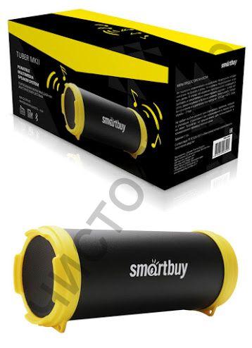 Колонка универс.с радио SmartBuy TUBER MKII MP3-плеер, FM-радио, черн/желт(арт.SBS-4200)