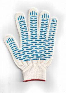 Перчатки х/б 4 нити с наладонником (10 пар)